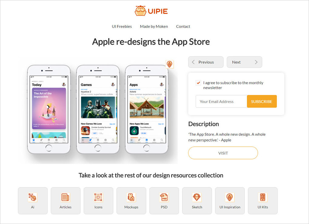 UIpie freebies