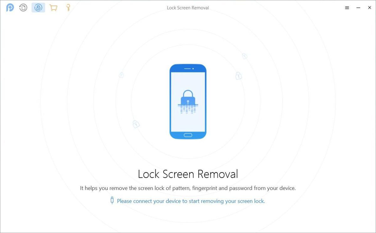 PhoneRescue features lock screen removal for Android