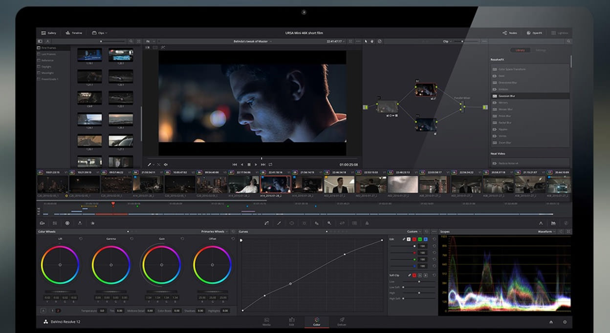 BlackMagic's DaVinci Resolve
