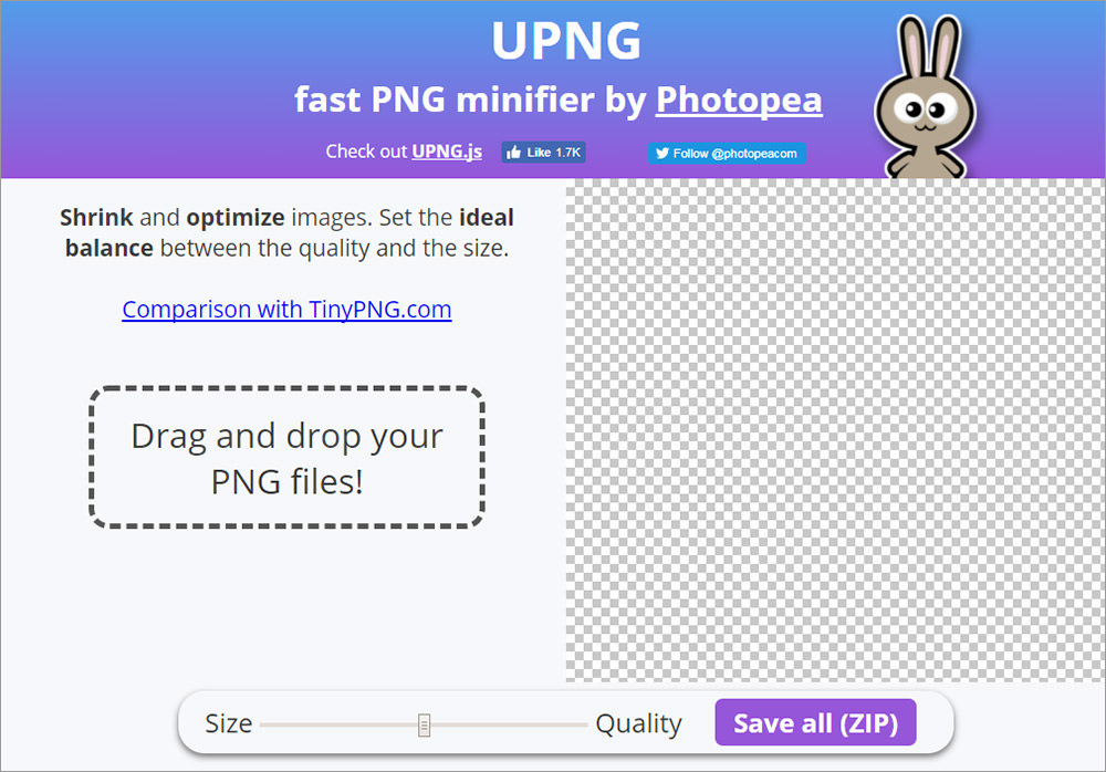 Домашняя страница UPNG