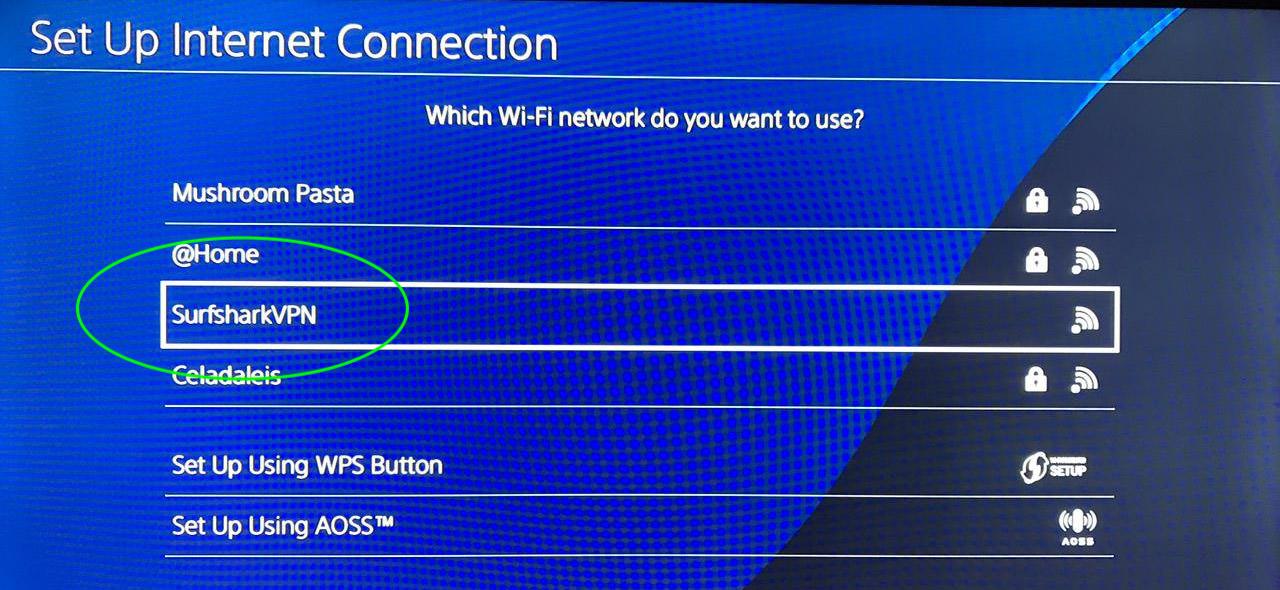 vpn wifi playstation