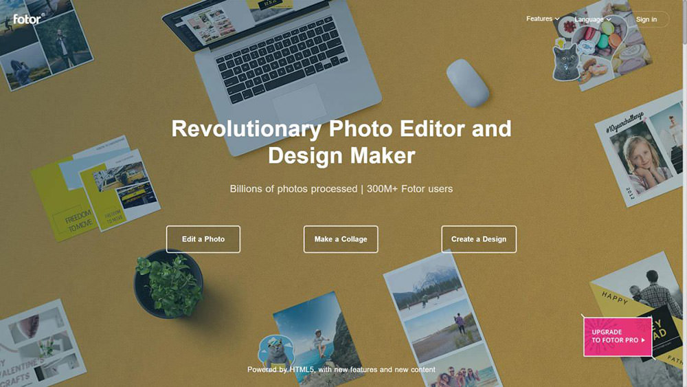 Fotor is a popular online picture editor