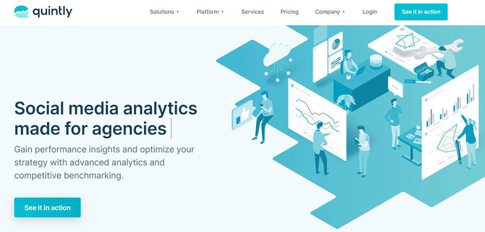 Quintly is a social media analytics tool