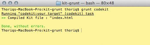 grunt run