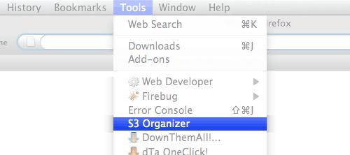 launch s3 organizer