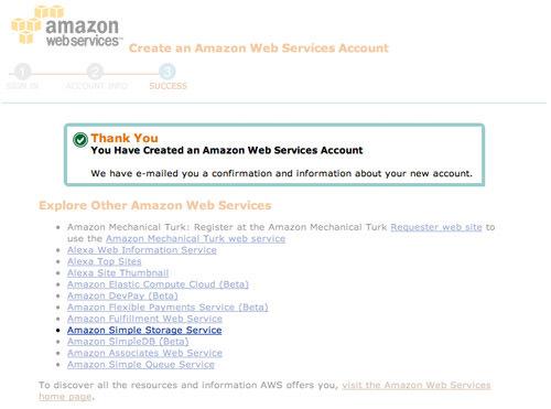 select amazon aws