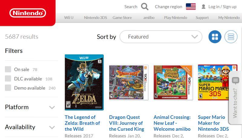 Nintendo Game Store