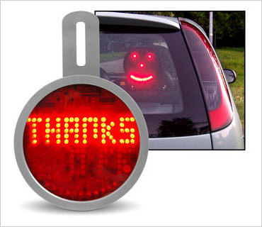 led car sign