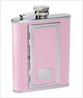 Sweet Pink Cigarette Flask