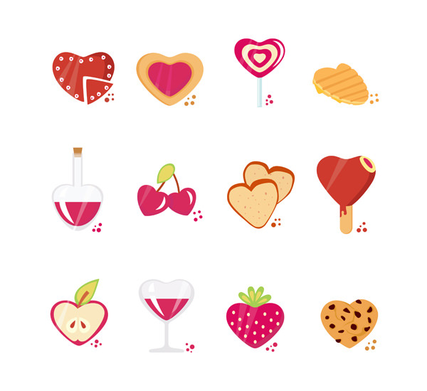 valentine's day iconsets