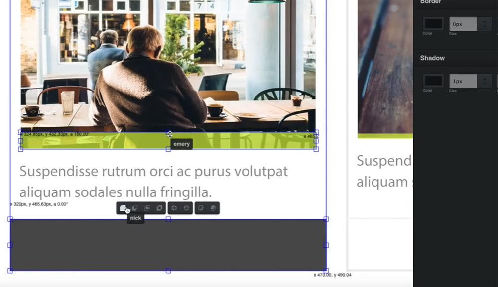 screenshot vectr app