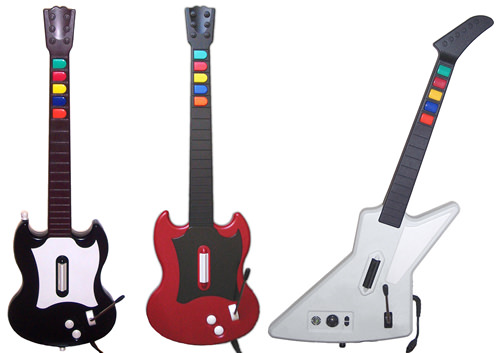 Controllers for Guitar Hero series