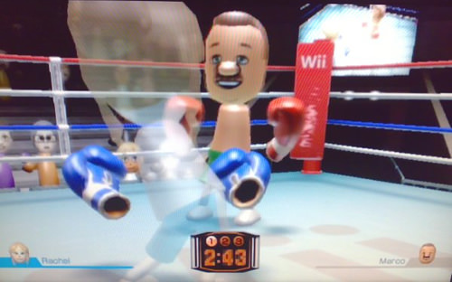 Wii Boxing from Wii Sports