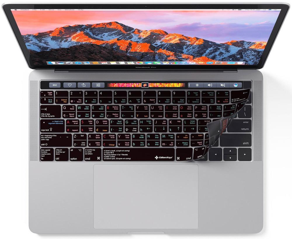 vim keyboard cover