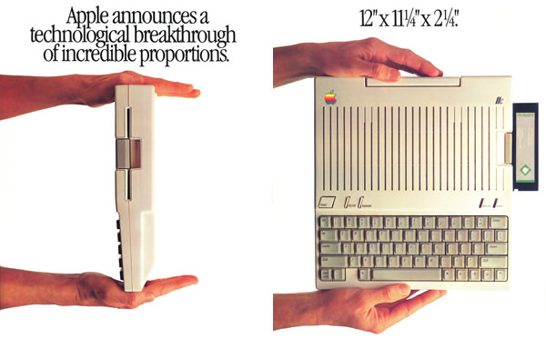 Apple IIc Advertisement from Personal Computing