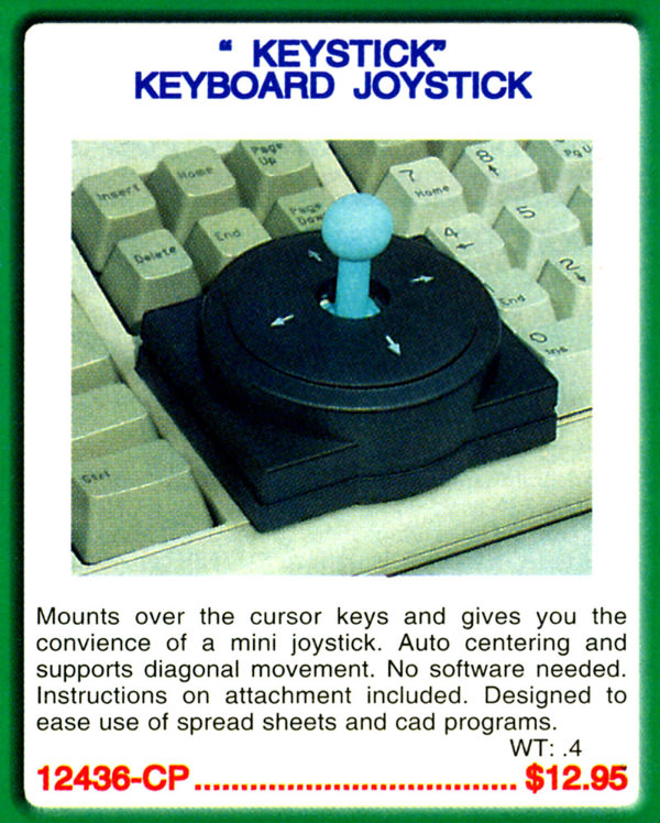 Keystick: Keyboard Joystick