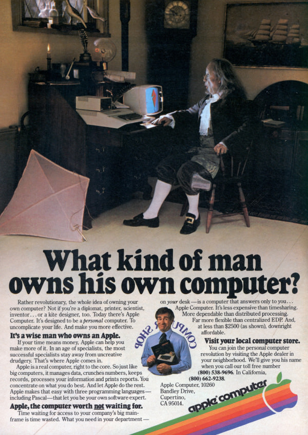 What kind of man owns his own computer? (May, 1980)