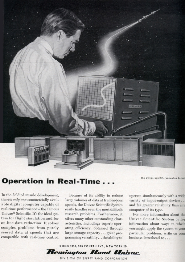 Computer Operation in Real-Time . . . (Mar, 1956)