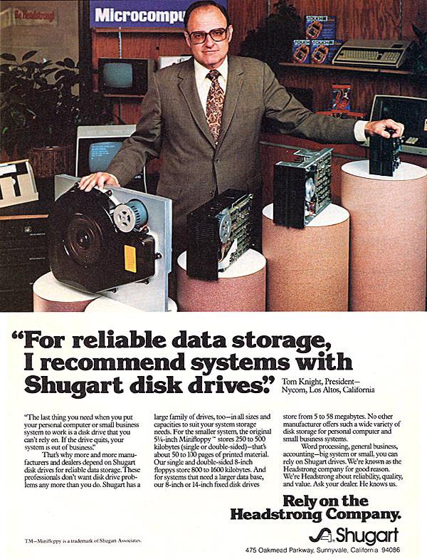 Shugart Disk Drive