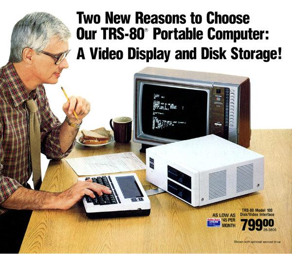 TRS-80 Model 100 Video