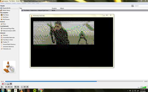 VLC ASCII