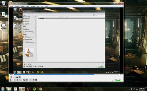 vlc desktop record