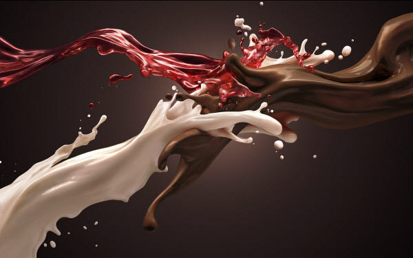 chocolate milk strawberry