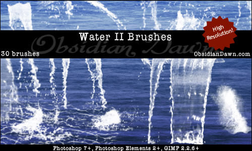 water filter photoshop