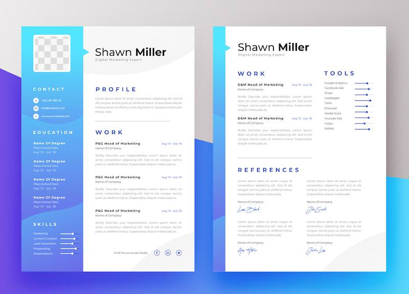 adaptable resume