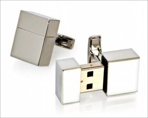 USB-Cufflinks