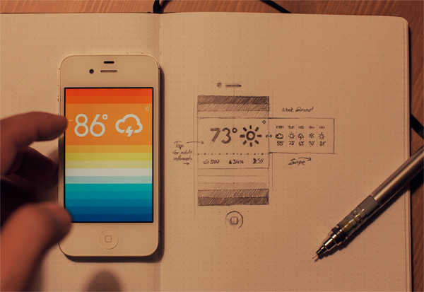 thermometer-weather-mobile-app