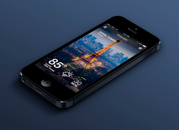 weather-mobile-app-design
