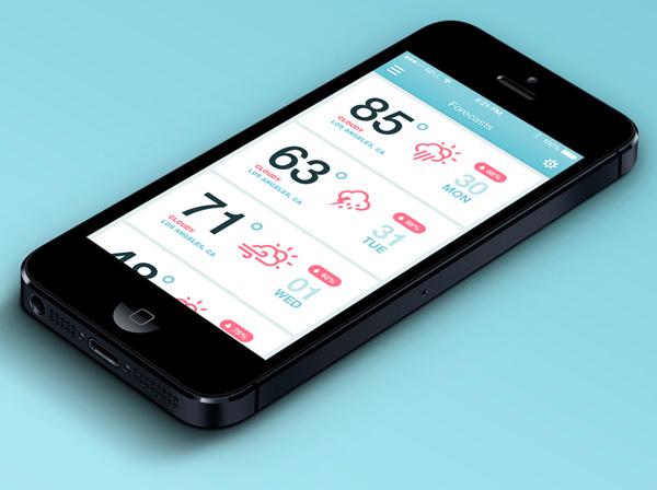 ios-weather-mobile-app