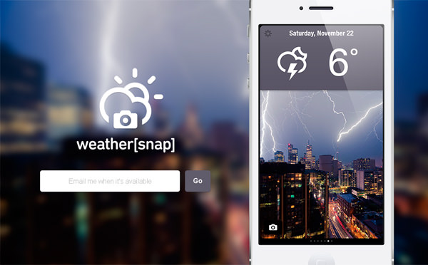weather-app-landing-page