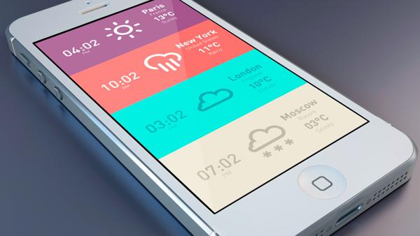 metro-clock-weather-app