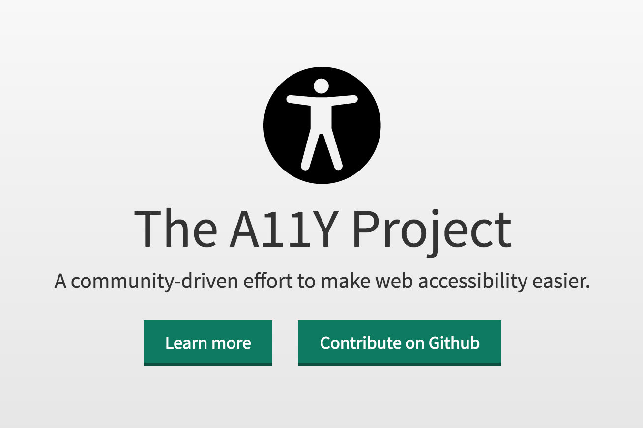 a11y accessibility project website