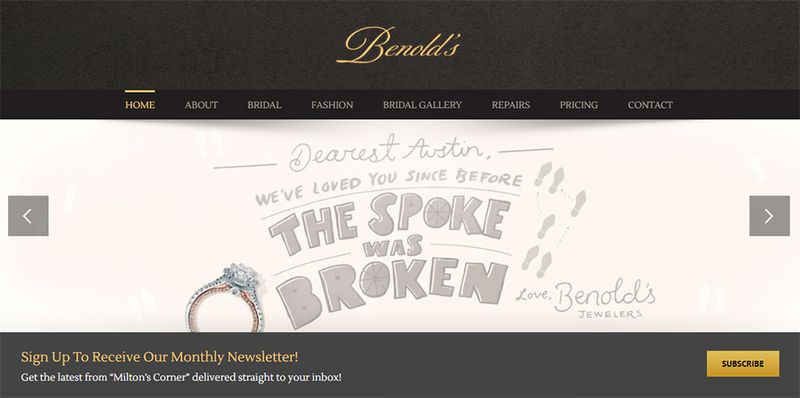 Benold's Jewelery Website