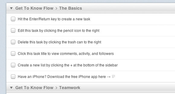 Flowapp modern to-do list