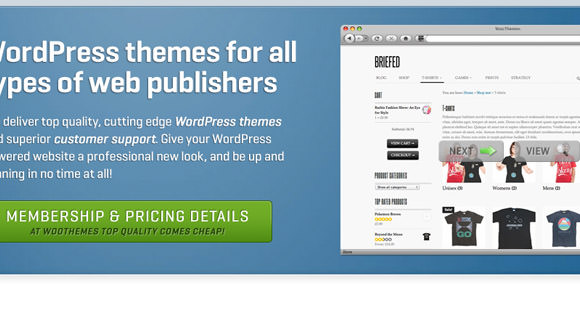 WooThemes design premium WordPress layouts