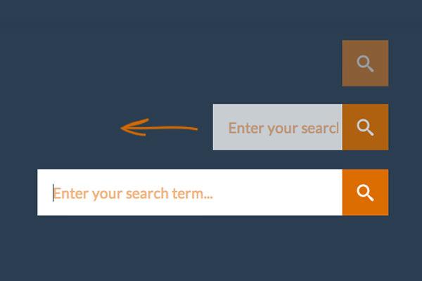 codrops tutorial expanding search bar input