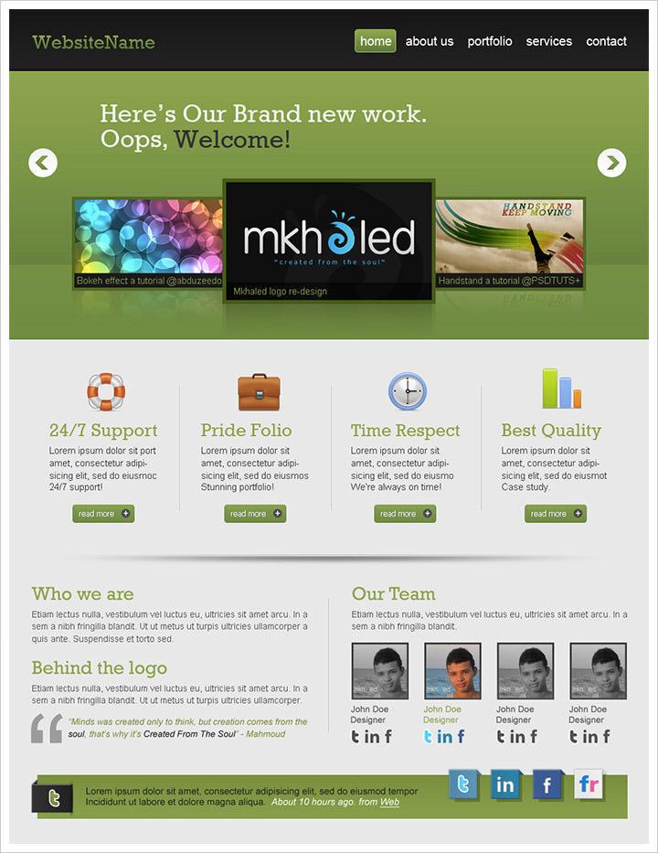 50 Best Website Interface Photoshop Tutorials Hongkiat