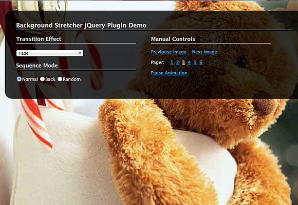 BG Stretcher II jQuery plugin