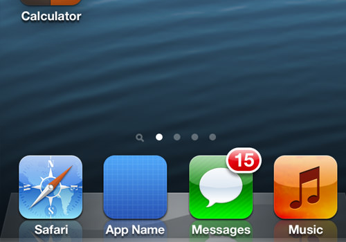 iphone homescreen icons design interface ui