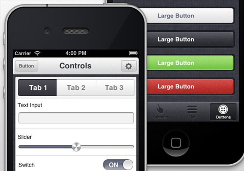 iphone ui freebie templates appview