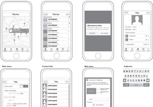 iphone illustrator vector freebie ios adobe