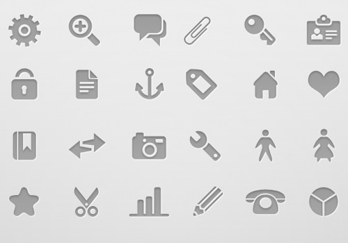 deziner folio website freebie vector icons