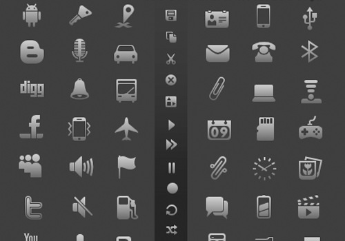 iphone glyph icons design freebie ios downloads