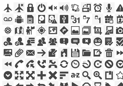 vector icons iconset native freebies download