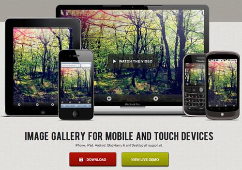 responsive slideshow mobile jquery plugin swipe webapps