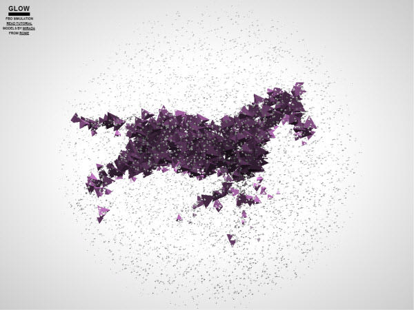 animated volume particles